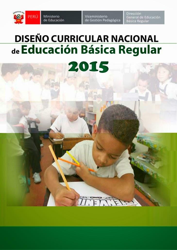 Dise o curricular nacional 2015 mi aula de innovaci n for Diseno curricular primaria